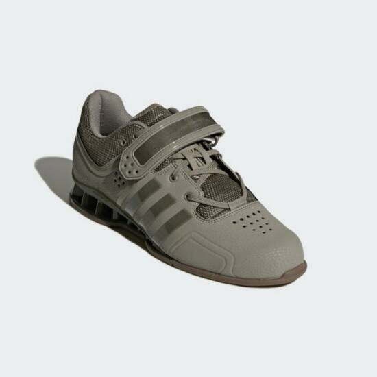 Adidas Adipower2018 súlyemelő cipő Oliv szürke