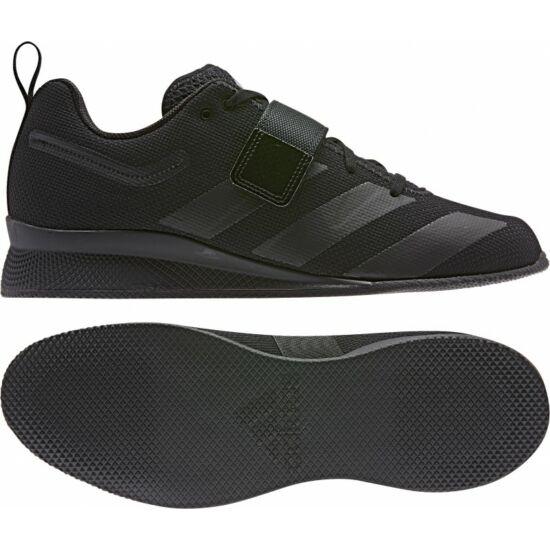 Adidas Adipower II.  súlyemelő cipő Fekete