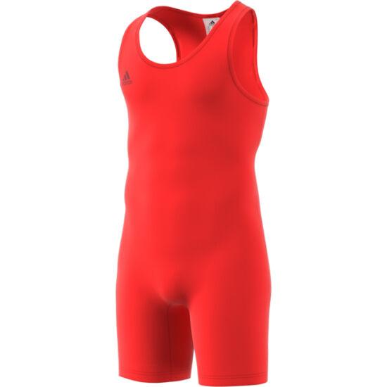 Adidas erőemelő mez, piros